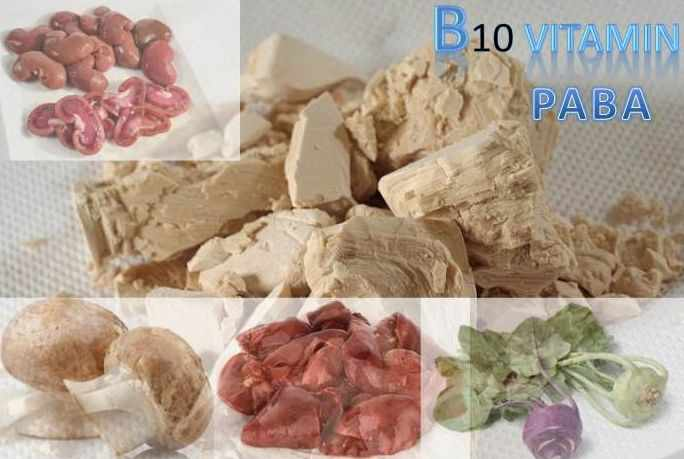 B10-vitamin (PABS, PABA)