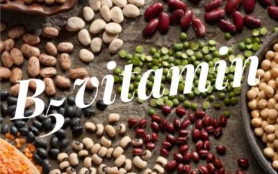 B5-vitamin (pantoténsav, kalcium-pantotenát)