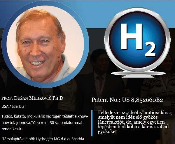 Dusan Miljkovics molekuláris hidrogen